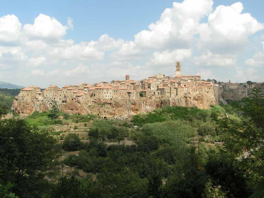 Pitigliano Panorama