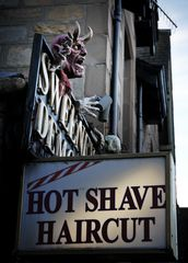 Pitlochry HOT SHAVE HAIRCUT