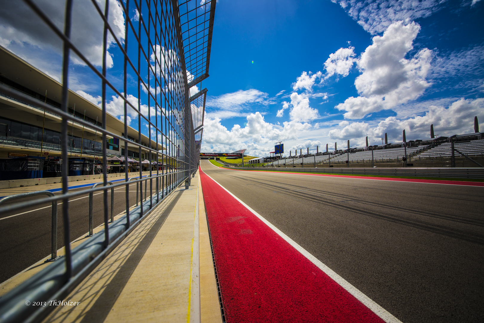 Pitwall in Austin