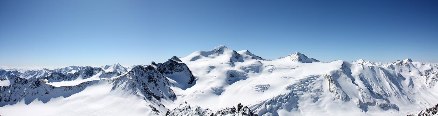 Pitztal Wildspitze Panorama