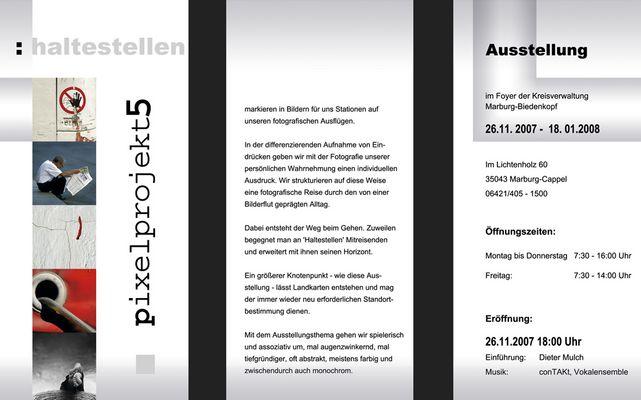 pixelprojekt5 - die Ausstellung