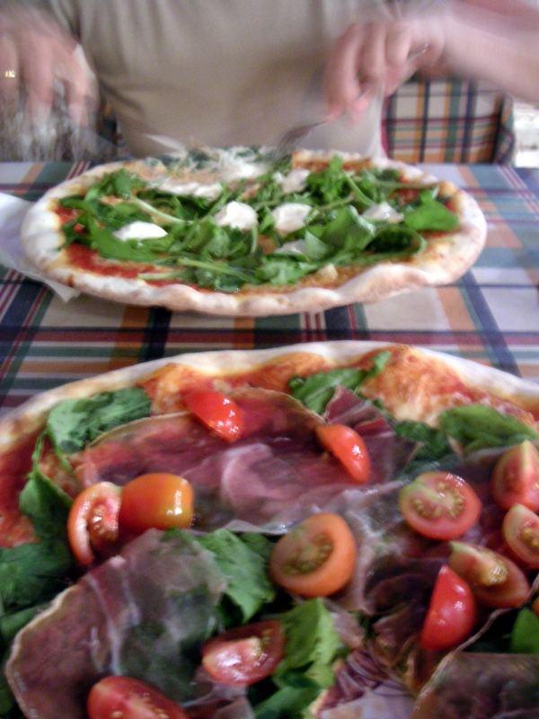 Pizza in Rovinj