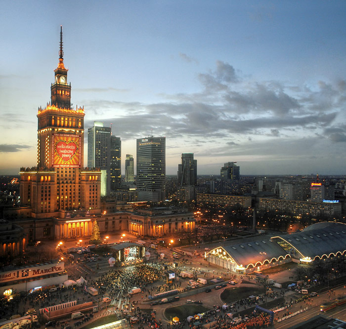 PKiN-WOSP, Warsaw, Poland