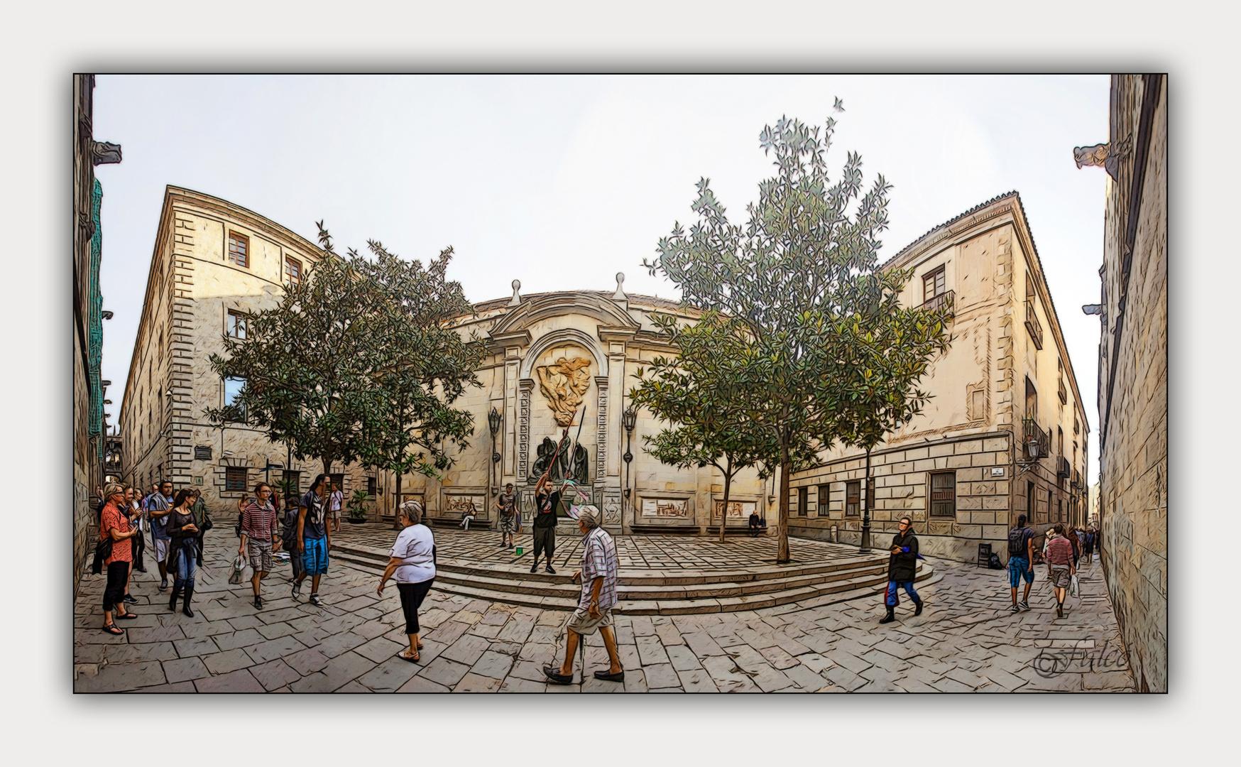 Plaça de Garriga i Bachs