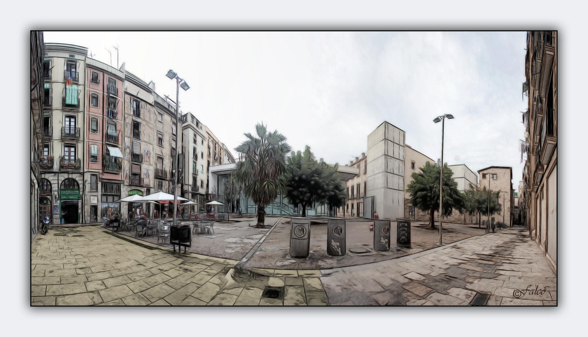 Plaça de Jaume Sabartés