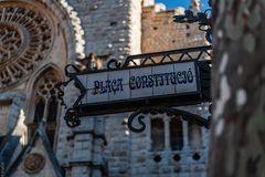 Placa Constitucio