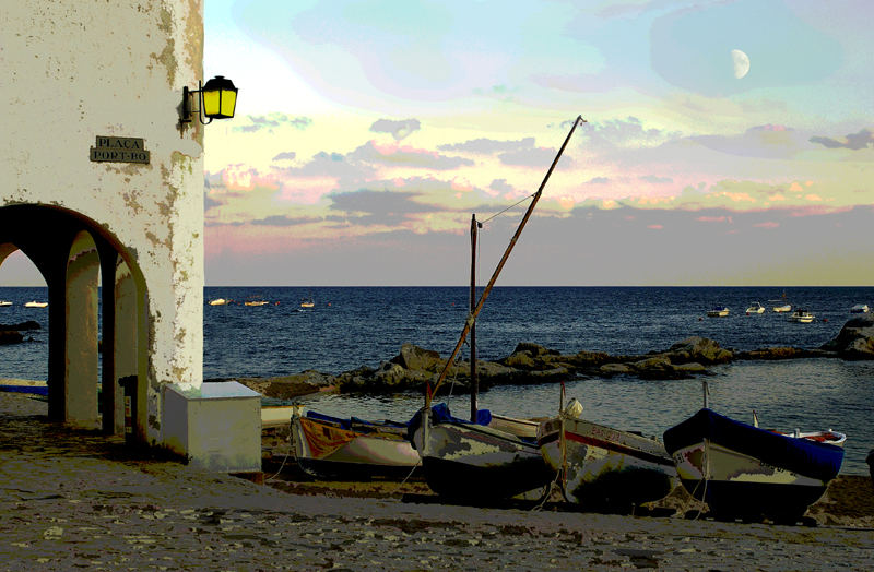 Placa Port Bou