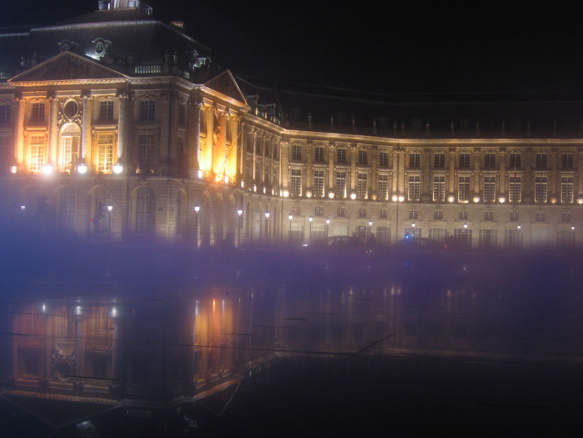 Place de la Bourse à Bordeaux