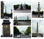 Place de la Concorde - Champs-Élysées- Triumpfbogen