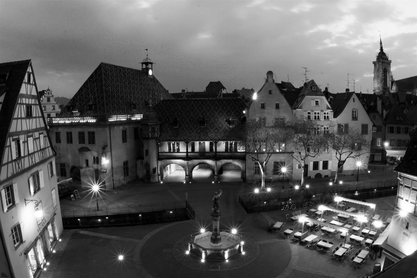 place de l'ancienne Douane a Colmar