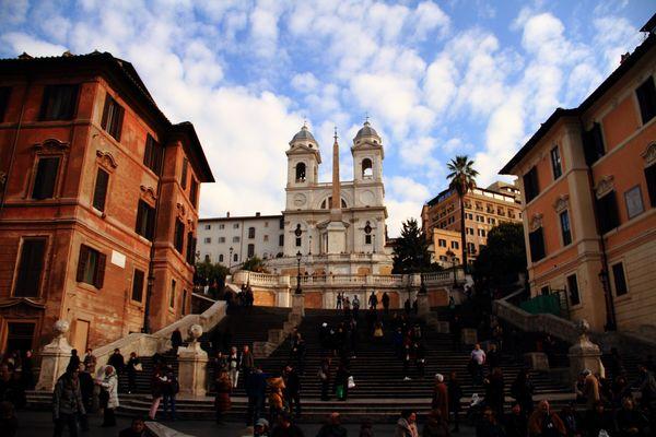 Place d'Espagne... Rome