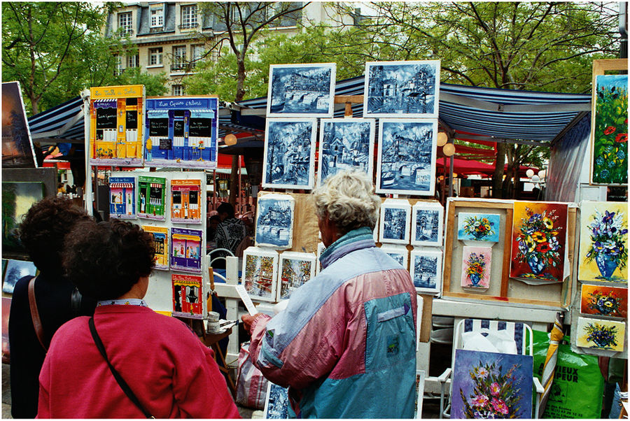 """"""" Place du Tertre """" ( 2 )"""