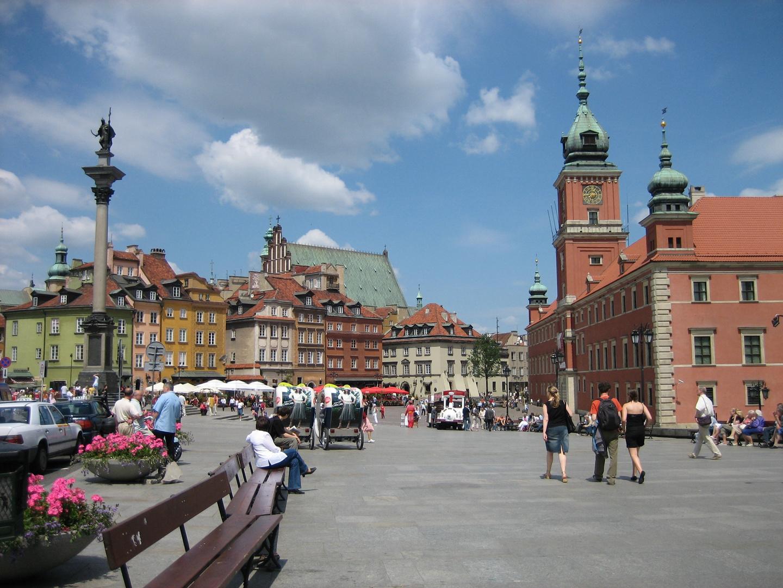 Place du vieux Marché de Varsovie