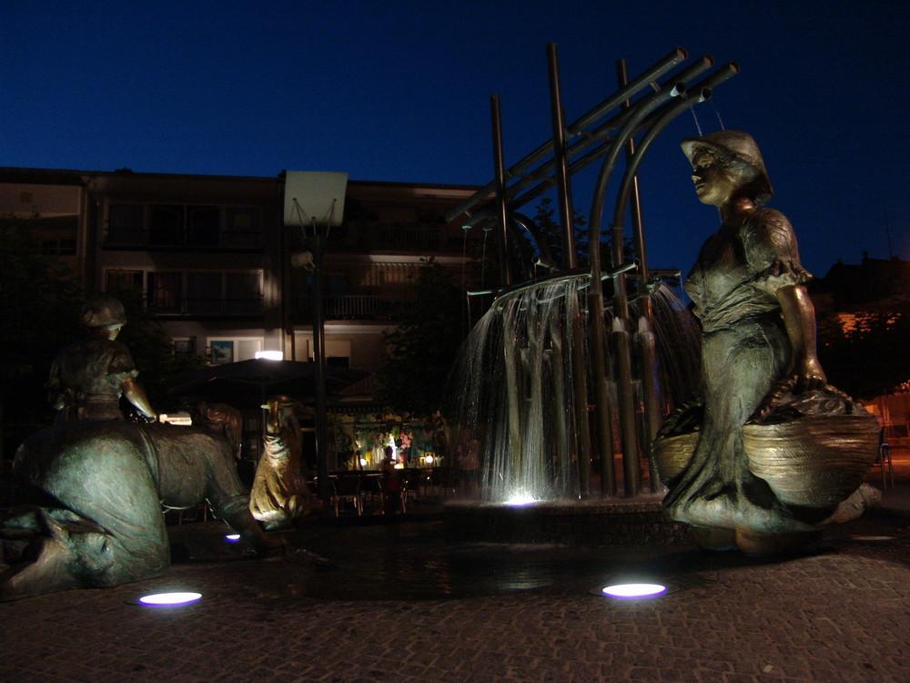 Place Fernand Konz in Remich / Luxemburg