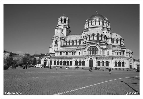 Place Sofia Bulgarie