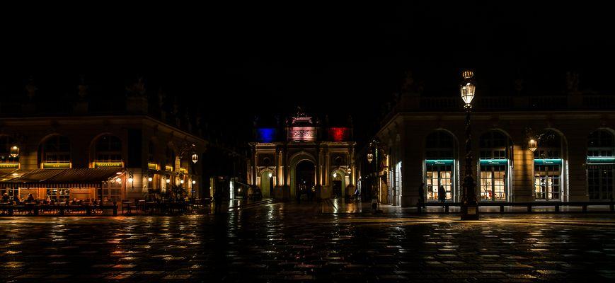 Place Stanislas de nuit