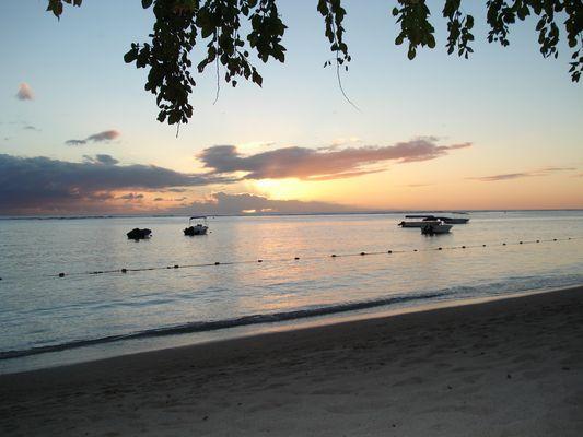 Plage de l'île Maurice