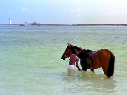 Plage de Nassau (Bahamas) à l'été 1974 !