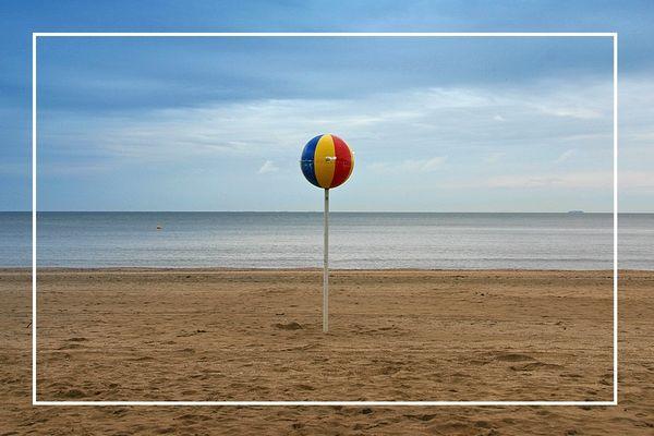 Plage de Trouville sur Mer - Le ballon (14)