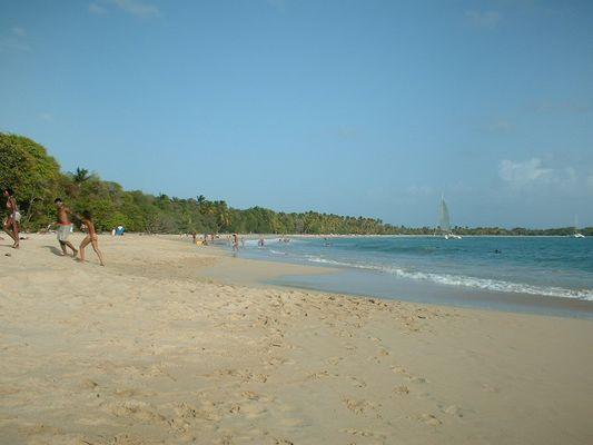 Plage des Salines - Martinique - Stage Plongée 2007