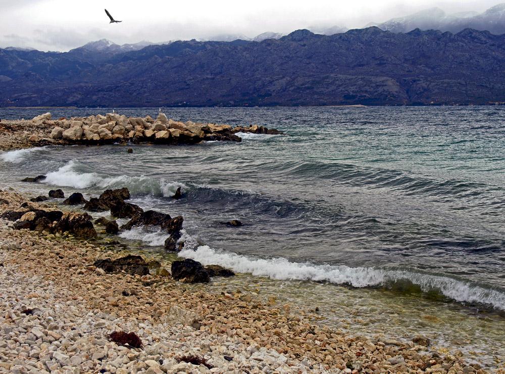 Plage deserte ... Der verlassene Strand