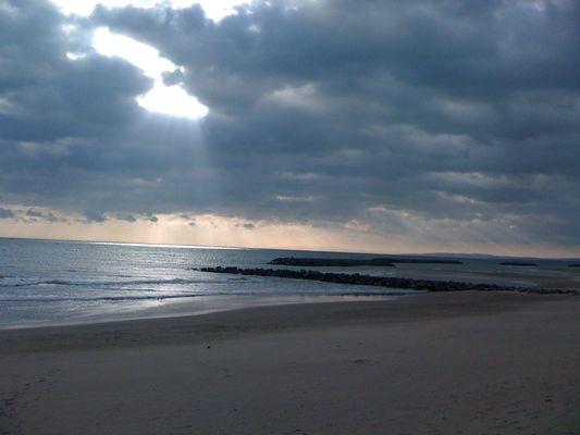 plage d'hiver