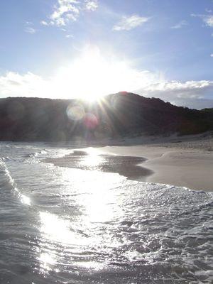 plage idyllique