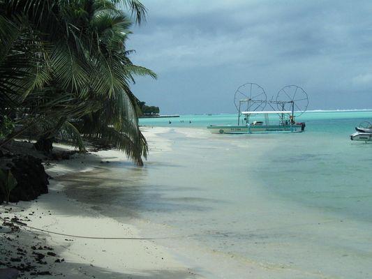 plage polynésienne