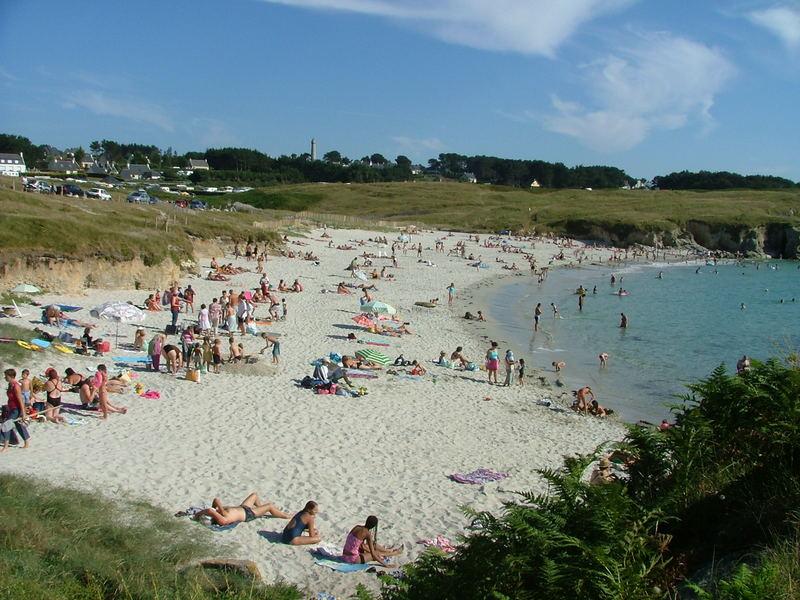 plage près de brest