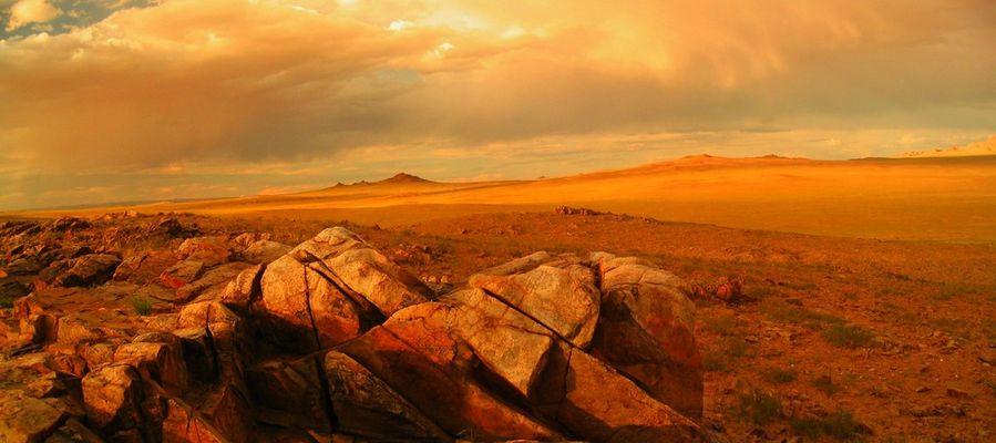 Plaine rase de l'Altaï