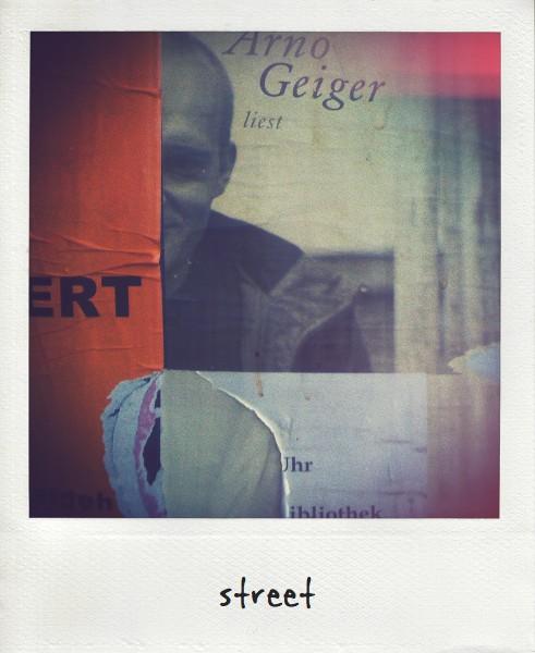 Plakat - Arno Geiger liest