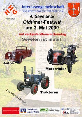 Plakat zum 4. Oldtimer - Festival