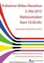 Plakat zum Bilder-MARATHON in Pulheim 5.5.2012