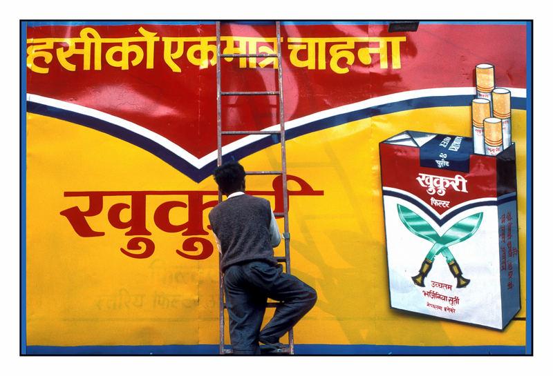 Plakatmaler-Kathmandu-Nepal