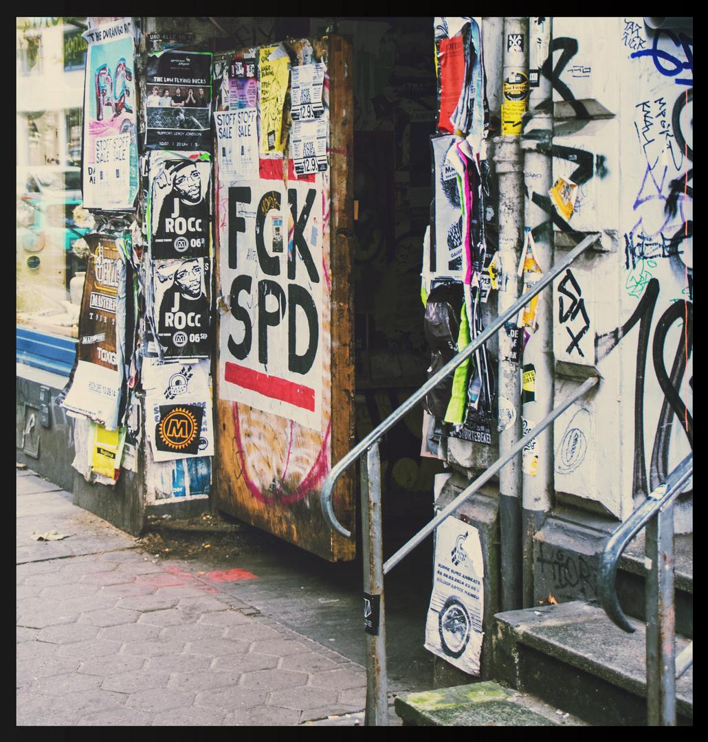 Plakatstraße