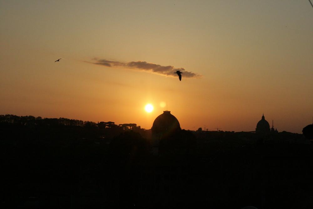 planando su Roma