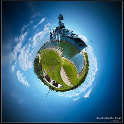 Planet battleship Texas