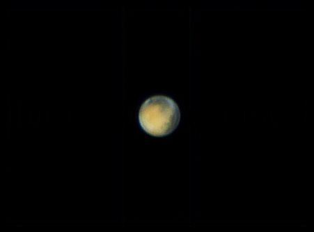 Planet Mars am 6 April 2014 Ver.2