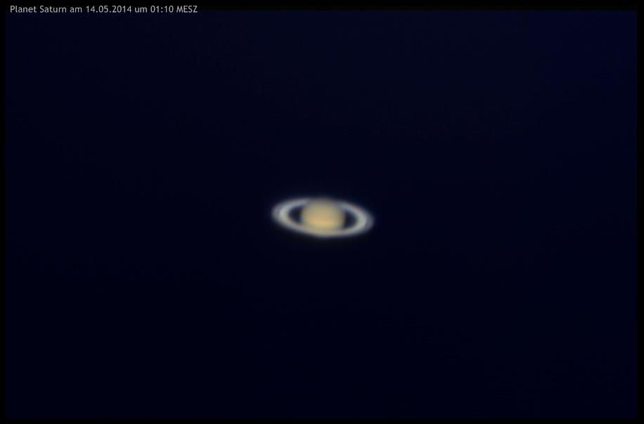 Planet Saturn am 14.05.2014