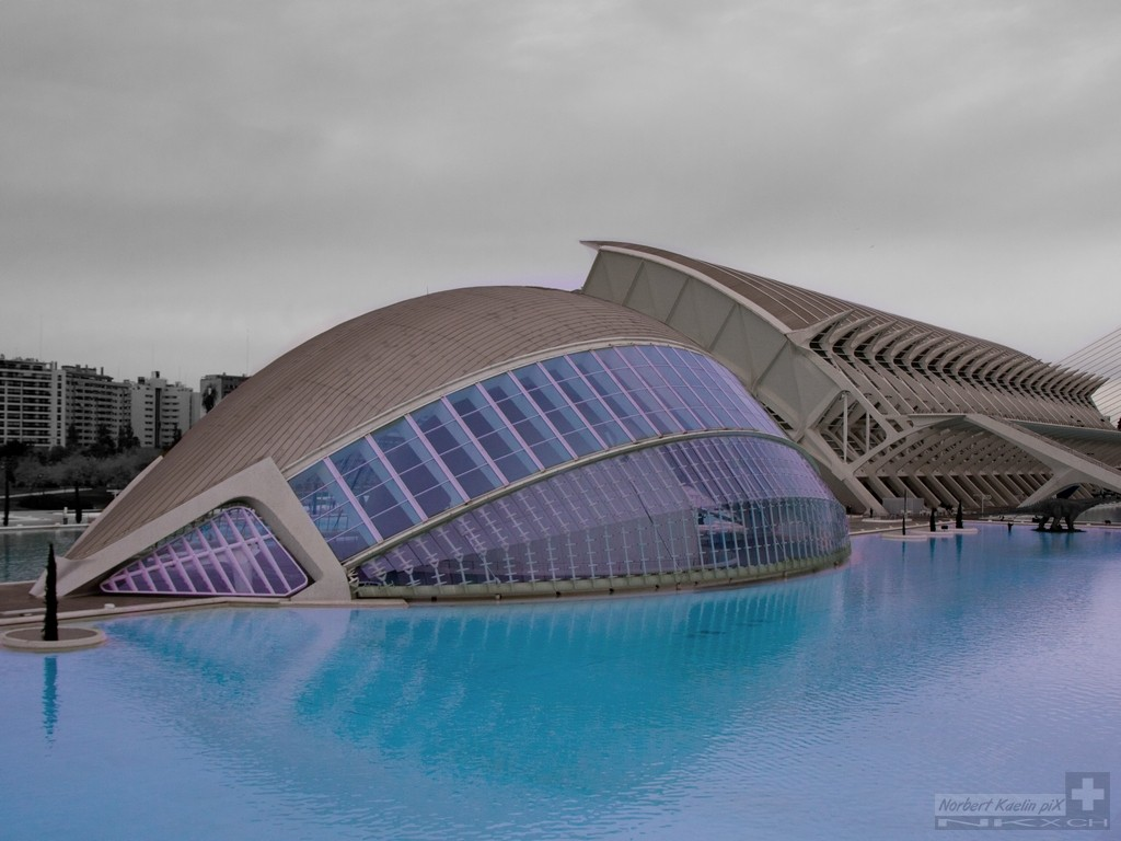 Planetarium Valencia Spanien