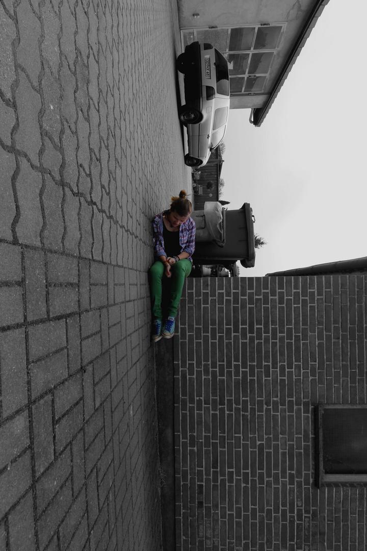 Planking...ein bisschen anders. :)