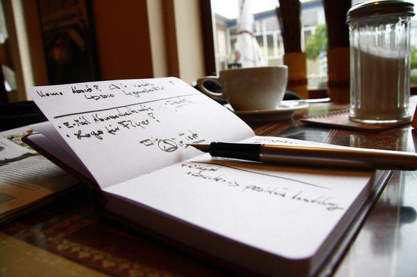 Planung des TheOfflineDay´s Blog