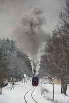 Planzug in Sorge am 8 Februar 2013