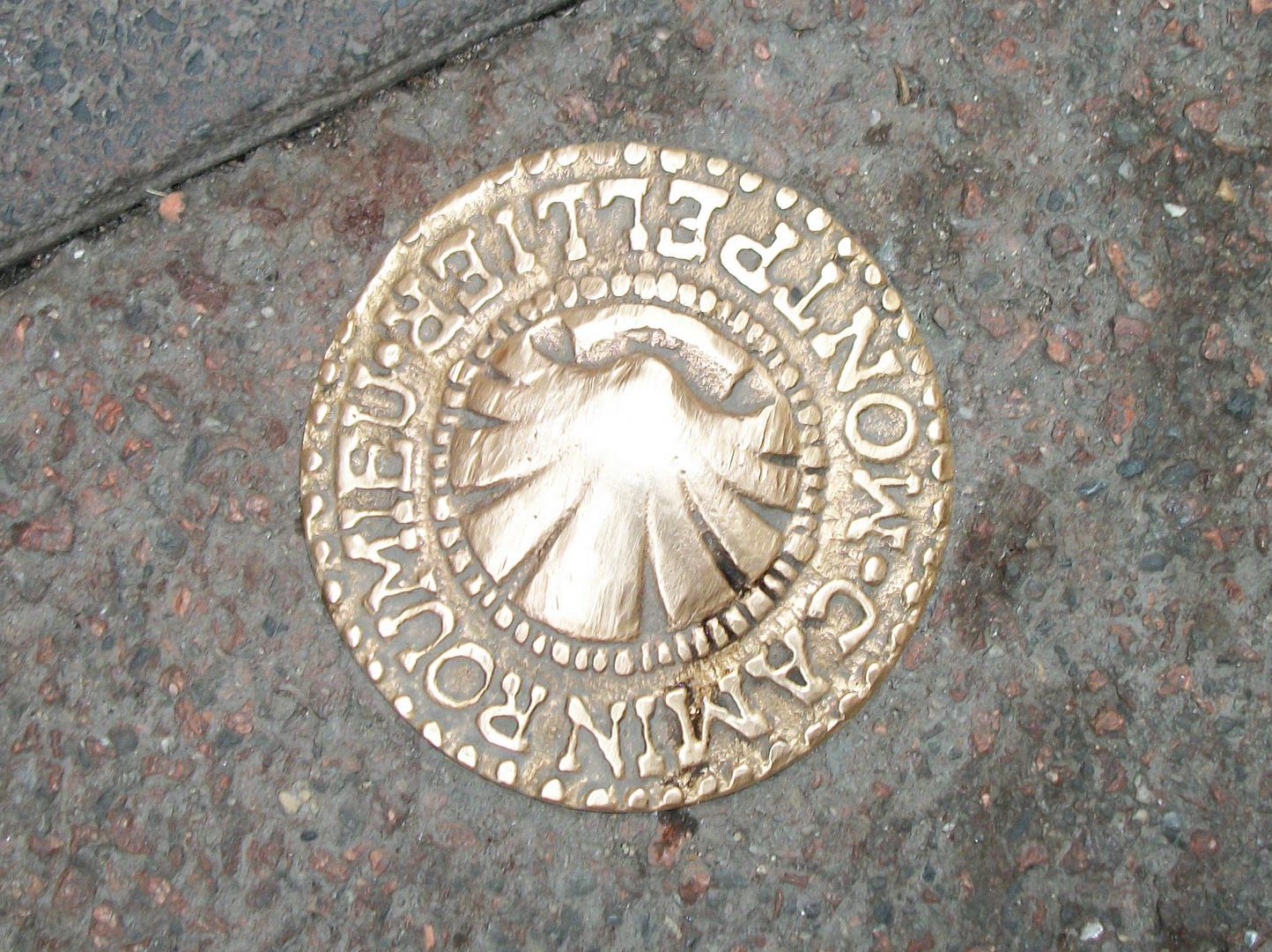 plaque de Montpellier