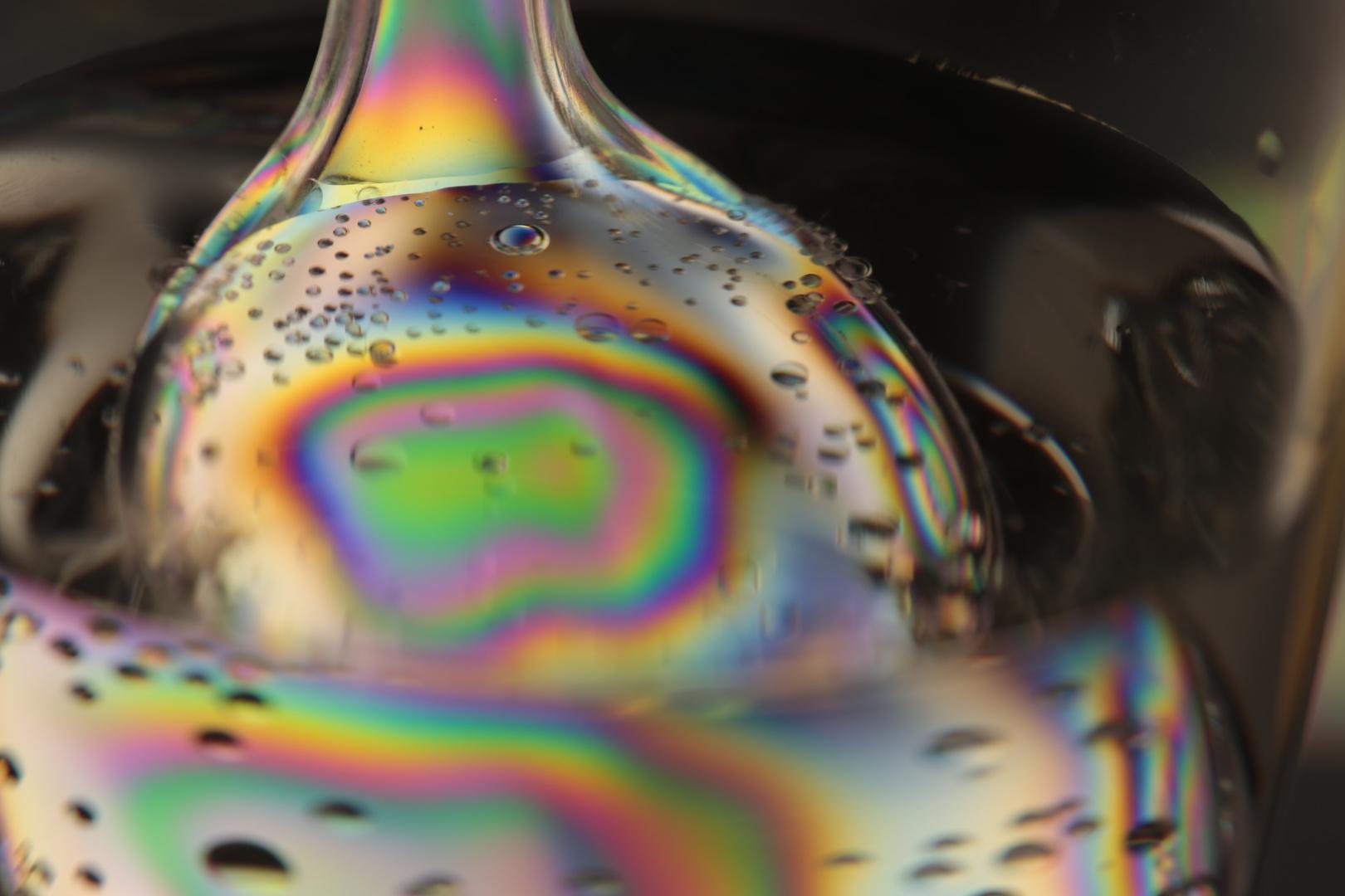 Plastiklöffel im Glas