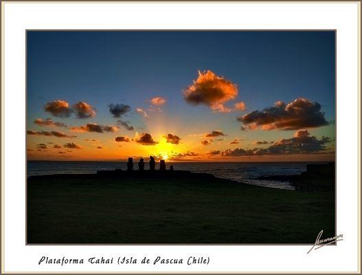 Plataforma Tahai (Isla de Pascua - Chile)