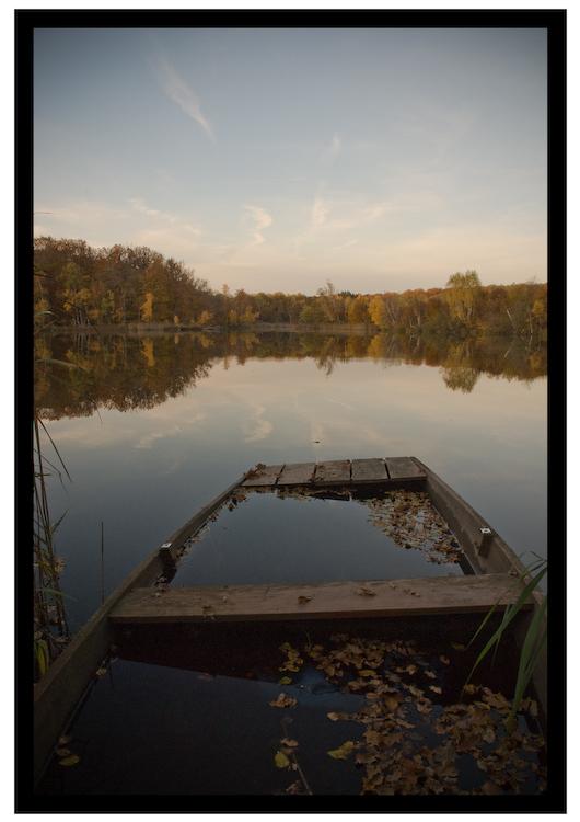 Plateau des milles étangs en automne