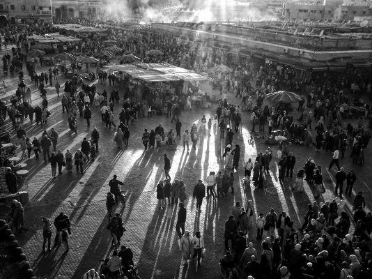 Platz der Gehenkten - Marrakesch