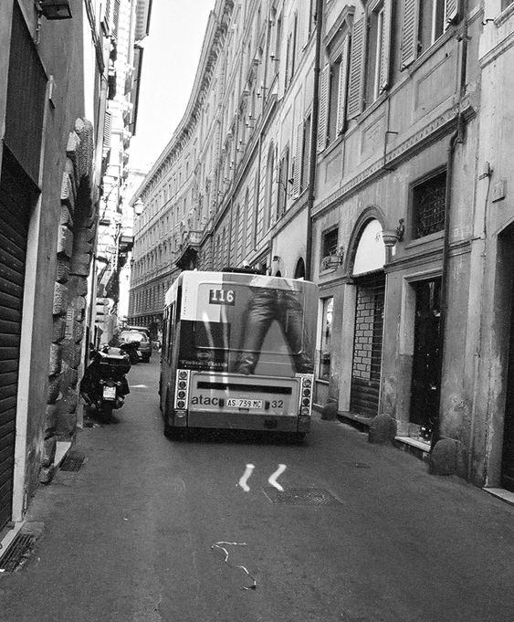 *Platz für einen Bus ist auch in der kleinsten Straße*