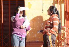 PLAUSCH am Morgen ... in Peru